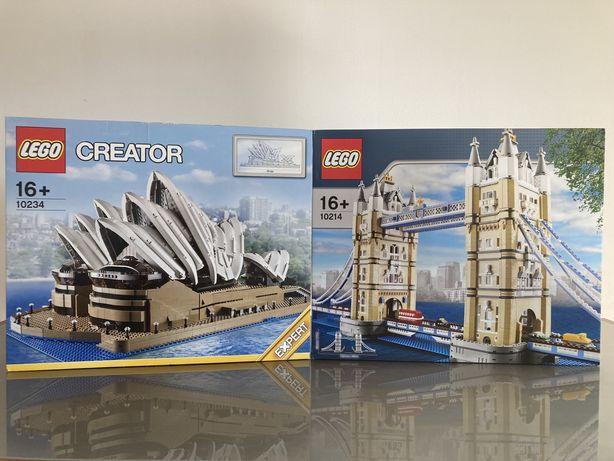 Lego Creator expert 10234 Sydney Opera House 10214 Tower Bridge