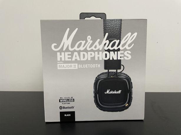 Headphones / Auscultadores Marshall Major II Bluetooth originais- NOVO