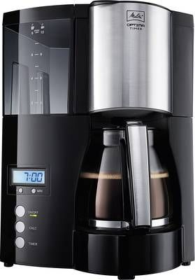 Ekspres do kawy Melitta Optima Timer black, 850 W