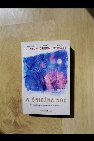 """Książka """" W śnieżną noc"""""""