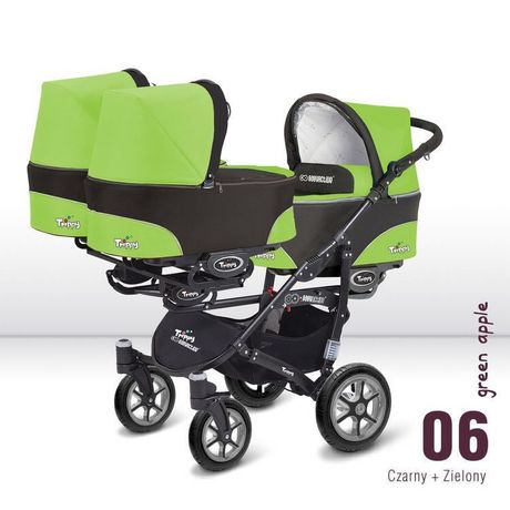 Коляска для тройни Baby Active Trippy