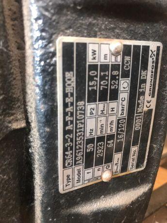 Насос промышленный вертикальный Грюндфос