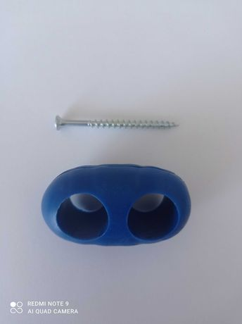 Siatka wspinaczkowa, plac zabaw, łącznik równoległy do lin 16mm+wkręt
