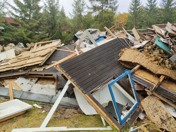 Za darmo drewno odpady po rozbiórce, deski, gabaryty