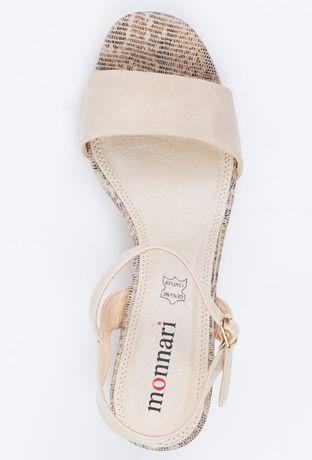MOnnari Nowe sandały ze zdobieniem 40 buty obuwie szpilki ### ### ###
