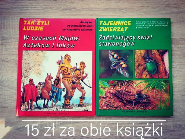 książki dla dzieci - album, stawonogi, dawne cywilizacje