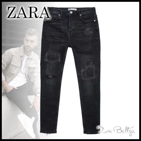 Джинсы Zara зауженные (skinny/скинни) XL