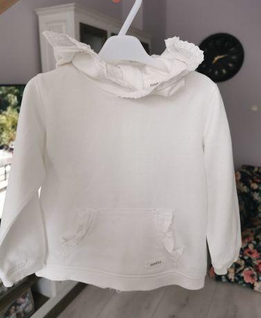 Śliczna bluza Newbie r 80, kolor offwhite, stan idealny