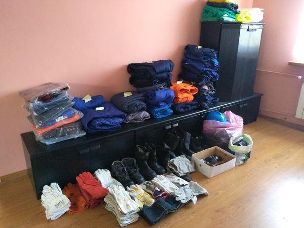 Odzież, obuwie, kaski i okulary monterskie/spawalnicze / BHP