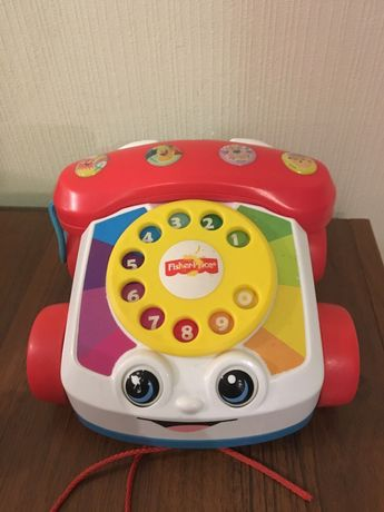 Телефон каталка fisher price