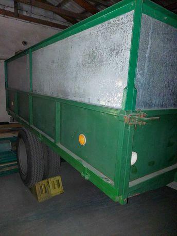 Przyczepa jednoosiowa wywrotka oraz inne maszyny rolnicze