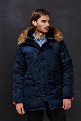 Зимняя куртка парка Alpha Industries Slim Fit N-3B Parka