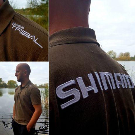 Zestaw odzieży SHIMANO Bluza,T-Shirt, Polo Oliwkowy PROMOCJA