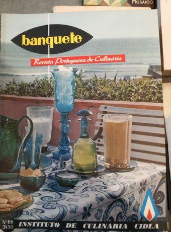 Revistas de culinária Banquete