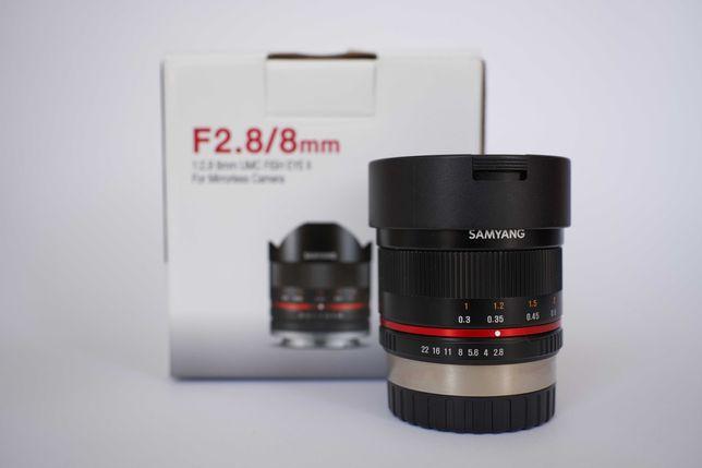 Samyang 8mm F/2.8 para Fujifilm X-mount
