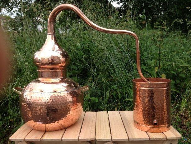 Alambique em cobre 15 litros
