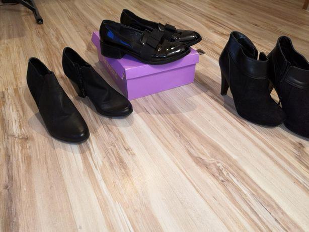 Okazjs 3 pary butów 39