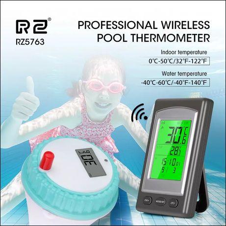 Беспроводной термометр для бассейна, джакузи, чана, ванны