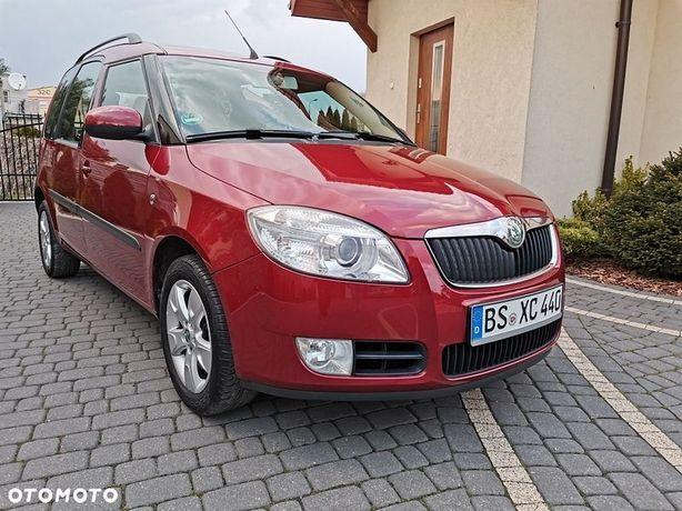 Škoda Roomster 1.6i 105 KM, bezwypadkowy, 1 właściciel, stan idealny
