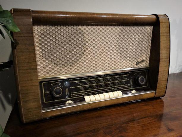 Zabytkowe radio lampowe GRAETZ SPITZEN SUPER 163W - SPRAWNE