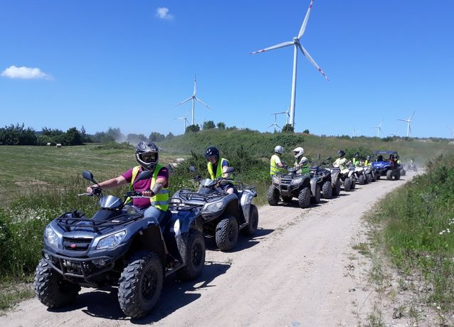 Wyprawa quadami i terenówkami SSV/UTV off road event