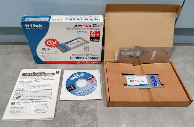 Karta Wi-Fi D-Link Air Plus Xtreme G+ DWL-G650+