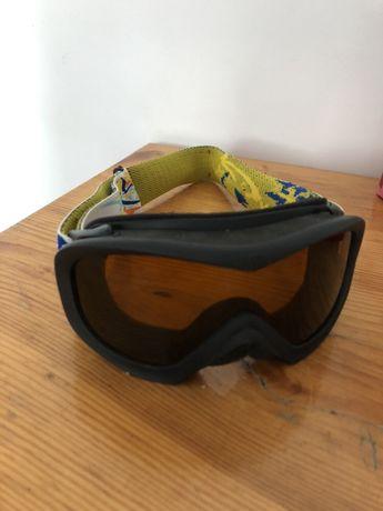 Gogle narciarskie dziecięce UVEX Wizzard 7-10lat używane