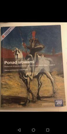 Książki cz 1 i cz 2 Ponad Słowami