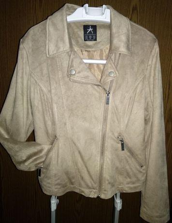 Женская Atmosphere курточка косуха деми замш