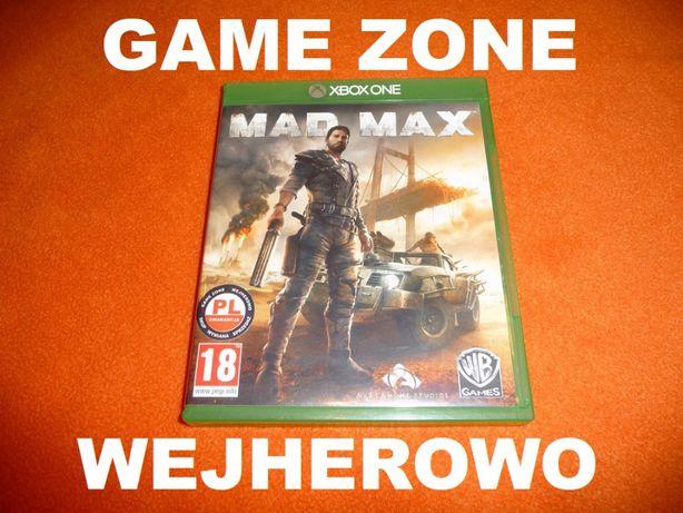 MAD MAX Xbox One + S + X = PŁYTA PL Wejherowo
