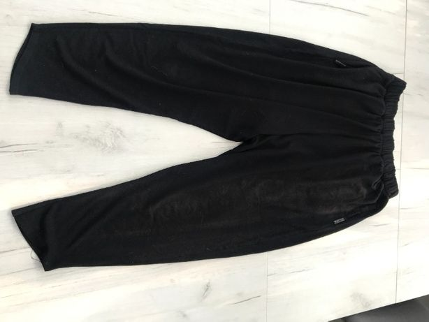 Simple spodnie baggy luźne 36 S