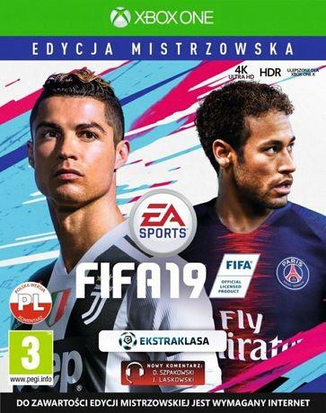 FIFA 19 Xbox one edycja mistrzowska