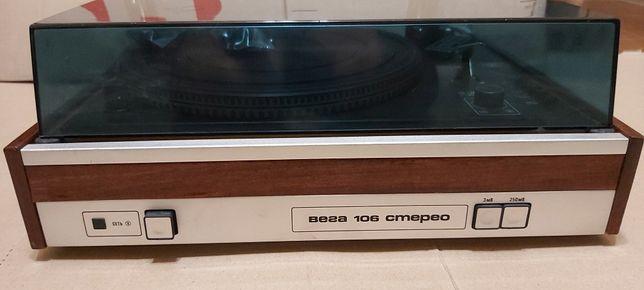 Прдам виниловые проигрыватели Вега-106