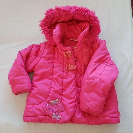 Kurtka jesienno zimowa dla dziewczynki .