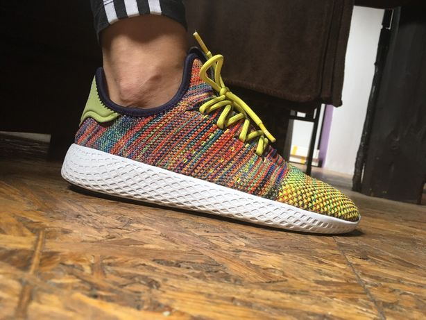 Super zestaw Adidas Pharrell Williams plus balerinki H&M