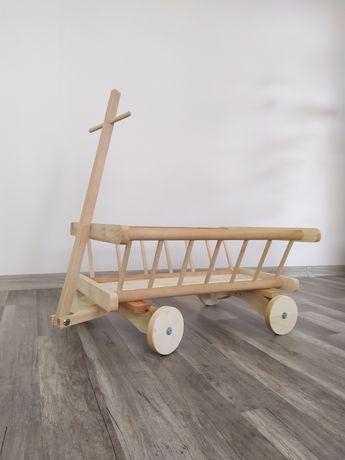 Drewniany wózek dla dziecka! EKO Zabawka!!