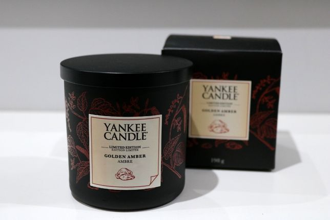 Golden Amber Yankee Candle