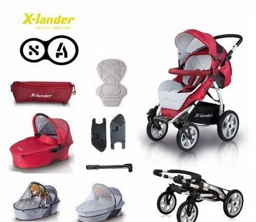 X-Lander Energy wózek 3w1 Czerwony