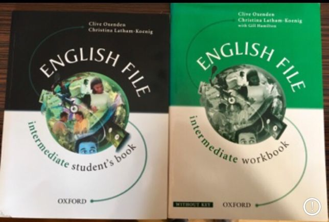 English file Intermediate student's book and workbook wyd.Oxford