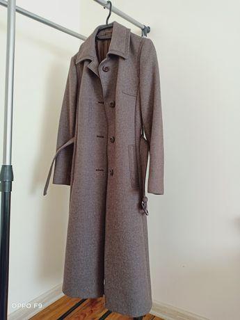 Тёплое пальто из шерсти ламы. Натуральная шерсть лама.