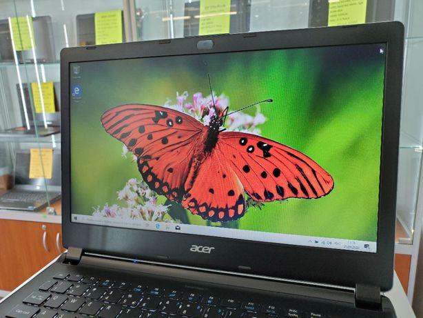 Красивый металлический ультрабук Acer Travelmate с подсветкой. SIGMA.