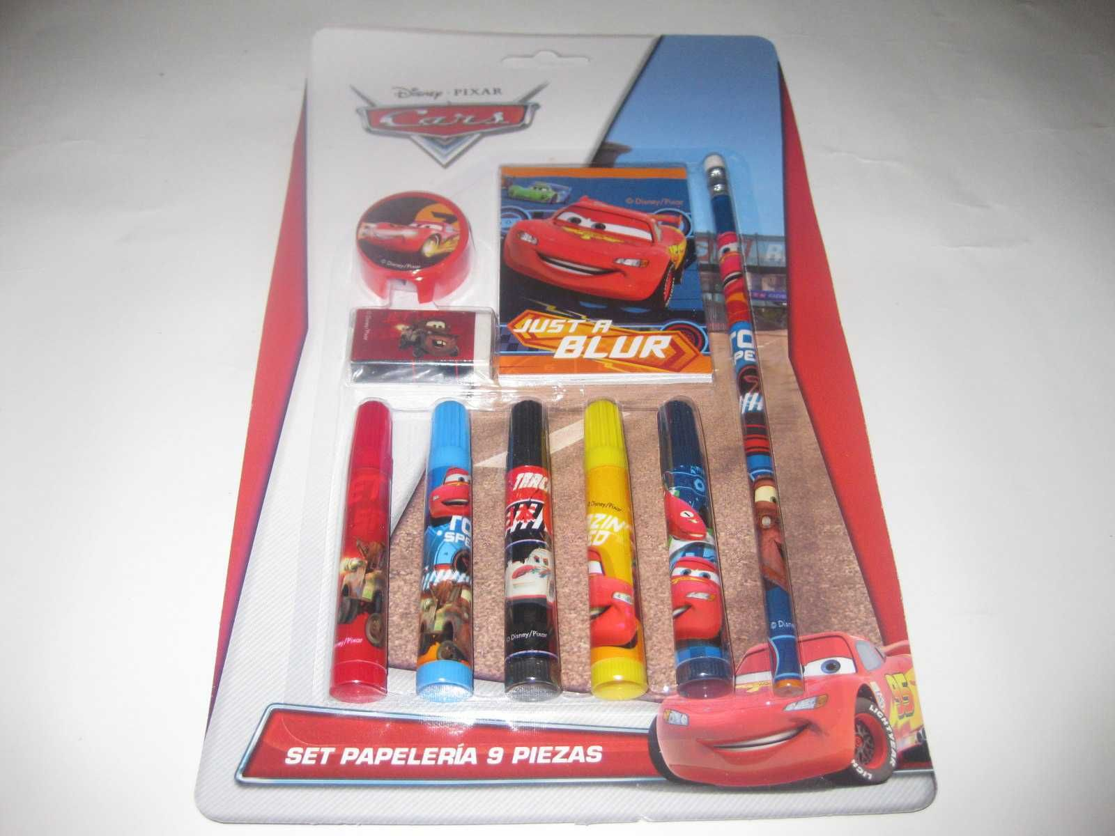 """Kit Escolar do """"Cars(Carros)"""" Selado!"""