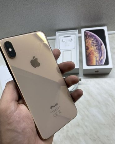 iPhone XS MAX Gold 64Gb, Оригинал - Kак новый