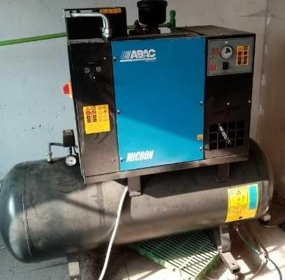 ABAC Sprężarka śrubowa Microne + osuszacz  7,5KW