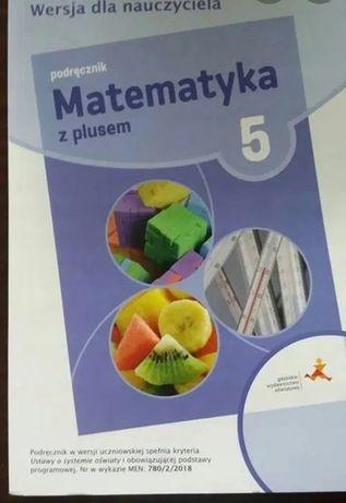 Matematyka z plusem kl 5 książka nauczyciela