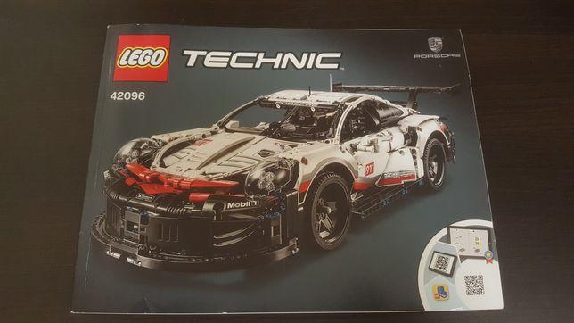 Instrukcja LEGO TECHNIC 42096 PORSHE 911 RSR
