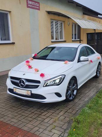 auto mercedes cla 180 do ślubu