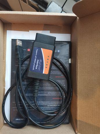 OBD2 EML327 kabel + soft