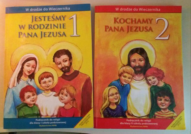Książki religia klasa 1 i 2 szkoła podstawowa