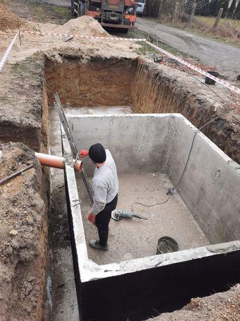 Szamba betonowe Zbiorniki betonowe 10m/3 Łódź Poznań Warszawa Września